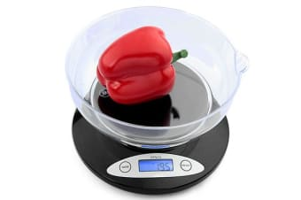 TODO 2Kg Kitchen Scale With Bowl Lcd Display 1G Graduation 2000G