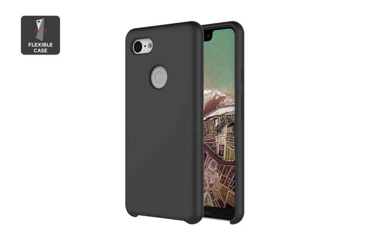 new product 50239 f7c8b Google Pixel 3 XL Silicone Case - Just Black