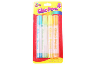 Artbox 50ml Water Based Glue Pens (Multicoloured) (One Size)