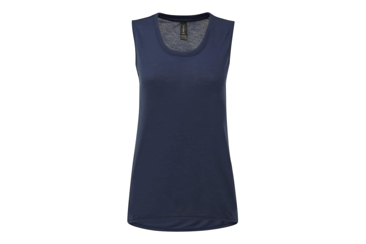 Anvil Womens/Ladies Freedom Sleeveless T-Shirt (Navy) (2XL)