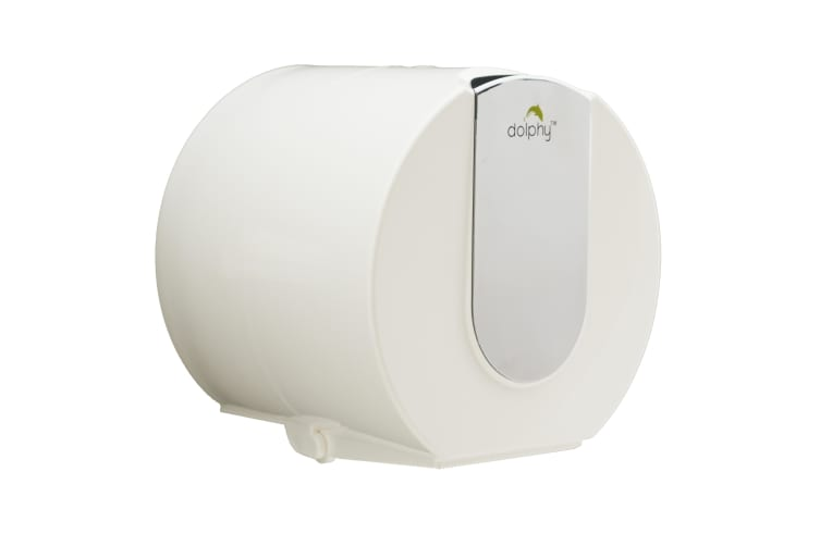 Dolphy Wall Mounted Small Roll Toilet Paper Dispenser - Mirror Finish