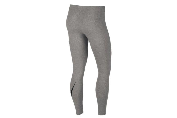 Nike Sportswear Leg-A-See 7/8 Women's Leggings (Dark Grey Heather, Size L)