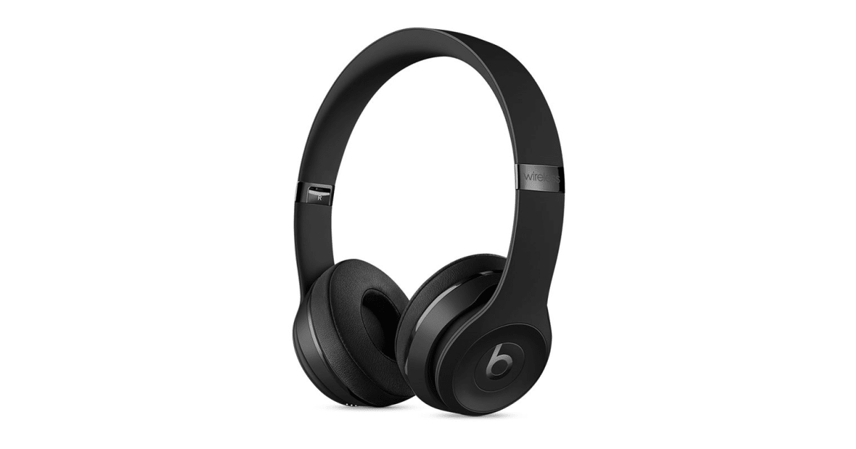 Beats Solo3 Wireless Headphones (Matte Black) | Over & On-Ear Headphones |