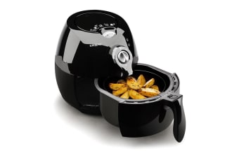 Black 2.2L Electric Air Fryer -EUC-AF2B