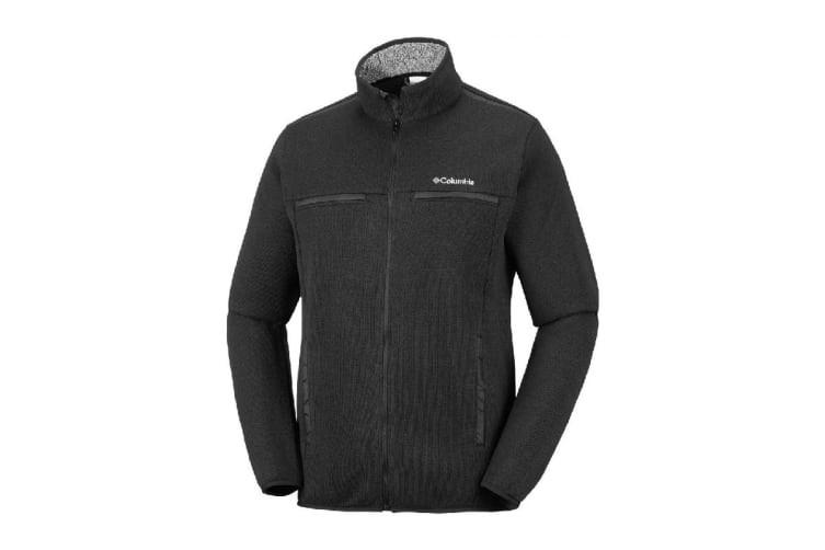Columbia Terpin Point III Full Zip (Black, Size M)