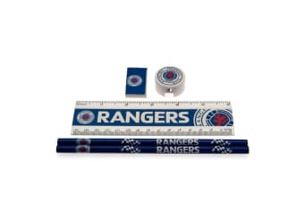 Rangers FC Core Name Stationery Set (Blue)