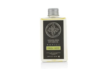 The Candle Company Reed Diffuser with Essential Oils Refill - Fresh Moss 100ml/3.38oz