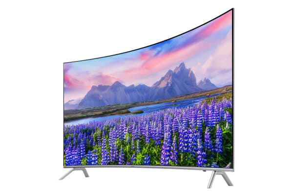 Samsung 55 Quot Series 8 Curved Premium Smart 4k Led Tv