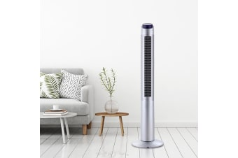 Tower Fan With Remote Timer Oscillating Portable Bladeless Fans 122cm 48