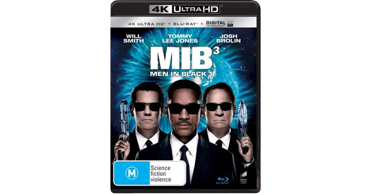 Men In Black 3 4k Ultra Hd Blu Ray Digital Download Uhd Region B 4k Ultra Hd Comedy
