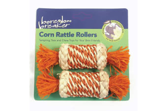 Boredom Breaker Corn Rattle Roller (Pack Of 2) (May Vary) (One Size)