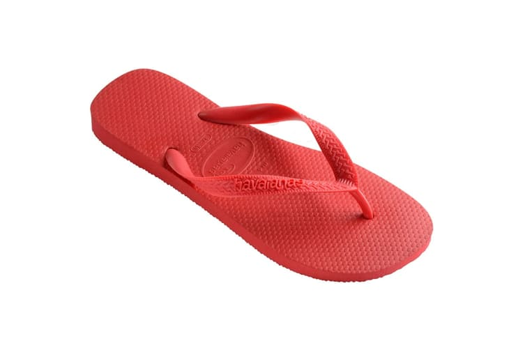 Havaianas Top Thongs (Ruby Red, Size 39/40 BR)