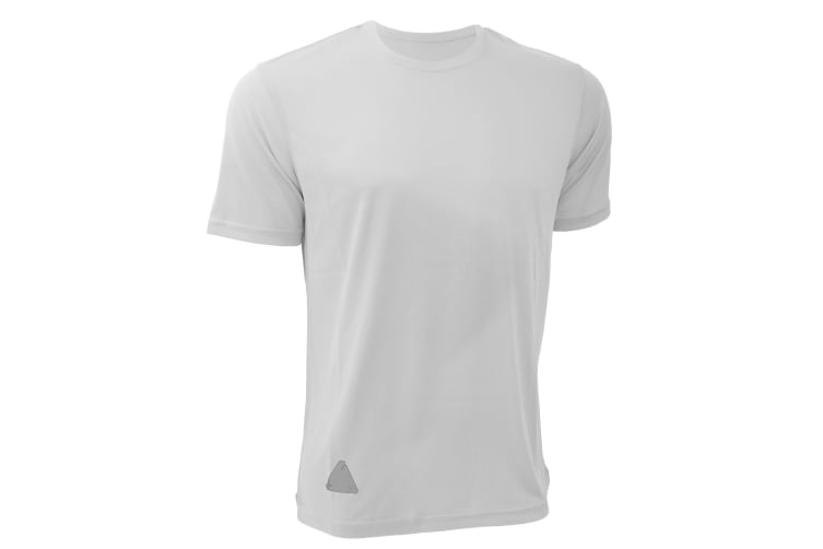 RTY Mens High Visibility Enhanced Dynamic T-Shirt (Pack of 2) (True White) (S)