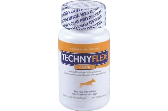 Natural Health Technyflex Canine (Green Lipped Mussel) 80c