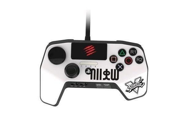 Mad Catz Street Fighter V FightPad Pro (Ryu White) for PS4 PS3
