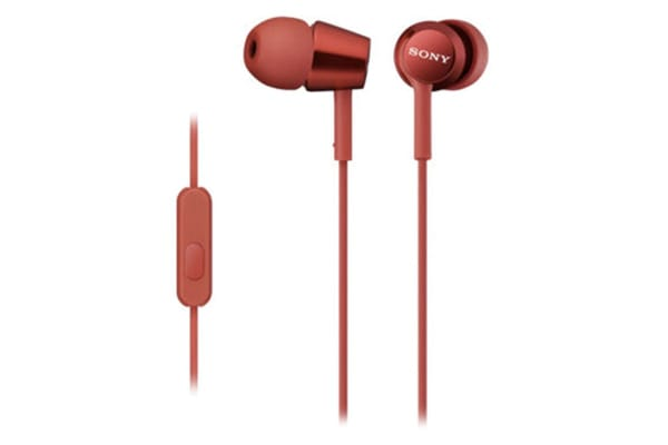 Sony EX Monitor In-Ear Headphones - Red (MDREX150APR)