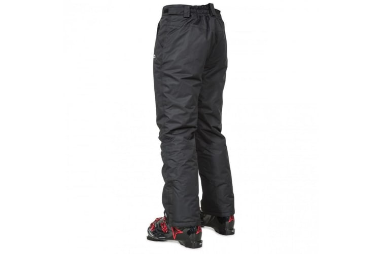 Trespass Mens Toledo Waterproof Ski Trousers (Black) (XS)
