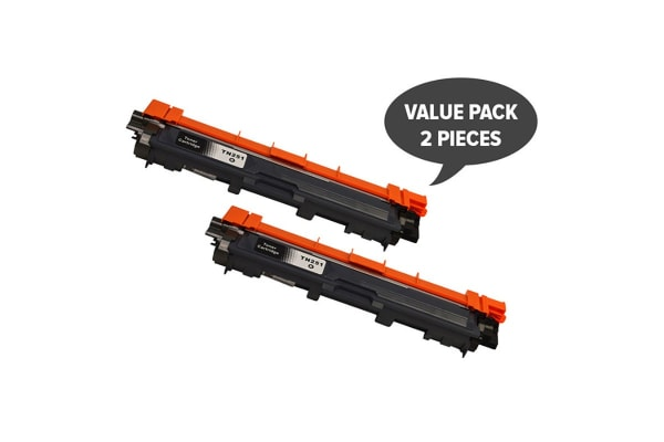TN-251 Black Premium Generic Toner (Two Pack)