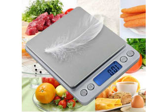 500g/0.01g Kitchen Digital Scale LCD Electronic Balance Food Weight Postal Scales