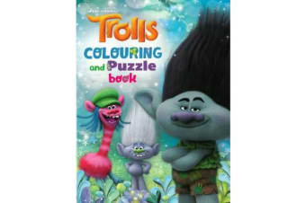 Dreamworks Trolls - Colouring and Puzzle Book