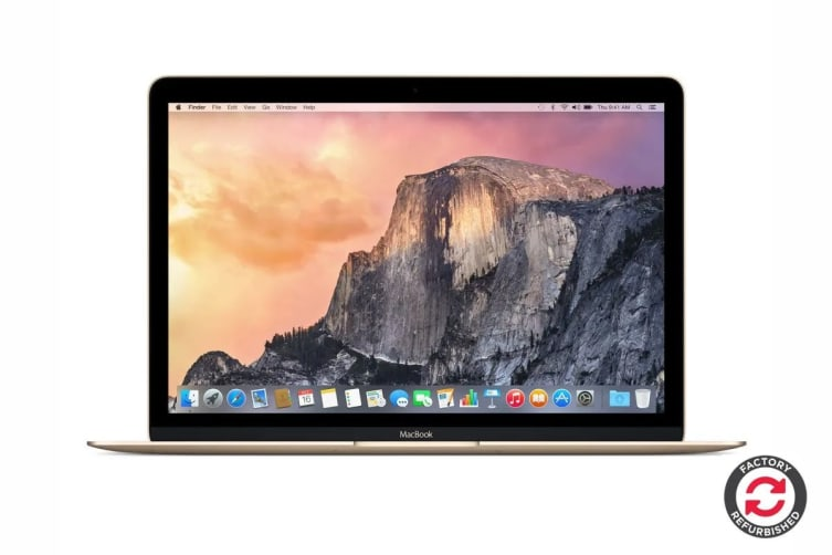 "Apple 12"" Macbook MLHE2 Refurbished (256GB, 1.1GHz m3, Gold) - A Grade"