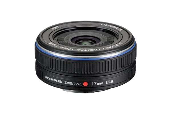 Olympus M.Zuiko Digital 17mm f/2.8 Lens (Black)