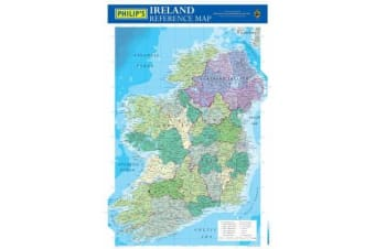 Philip's Reference Map: Ireland - Political