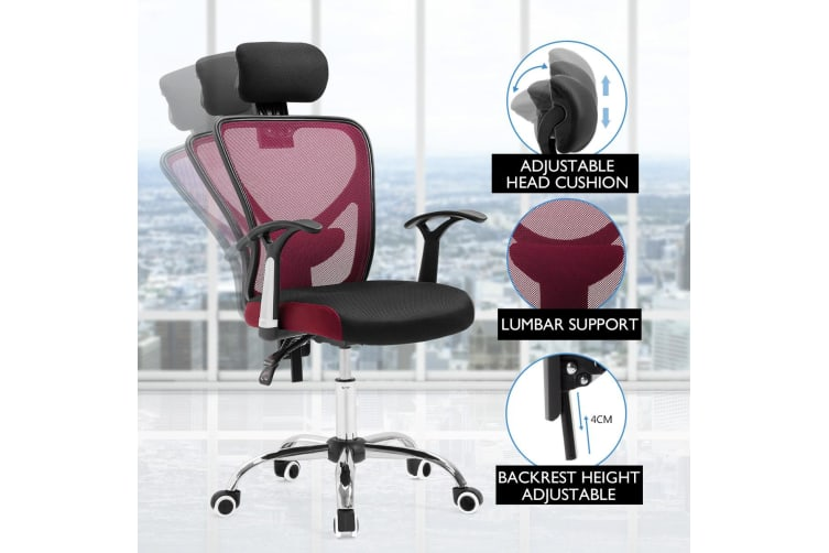 Ergonomic High Back Mesh Office Chair with Back Lumbar Support