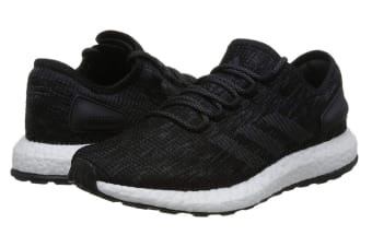 Adidas Men's PureBOOST Running Shoe (Core Black/Grey, Size 10 UK)