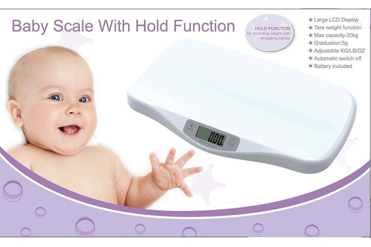 Digital Electronic Infant Baby Scale Pet Vet Scales Pediatric Weight tracker