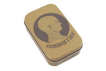 Cabinet Of Curiosities Curiosities Metal Tin (May Vary) (One Size)