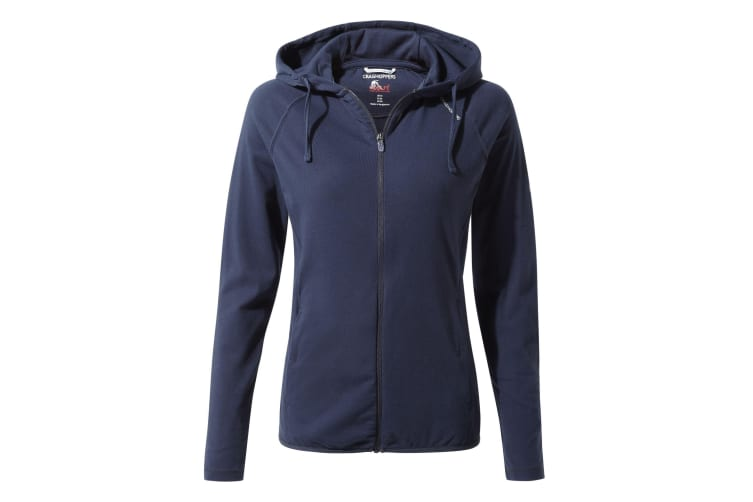Craghoppers Womens/Ladies NosiLife Sydney Hoodie (Blue Navy) (16 UK)