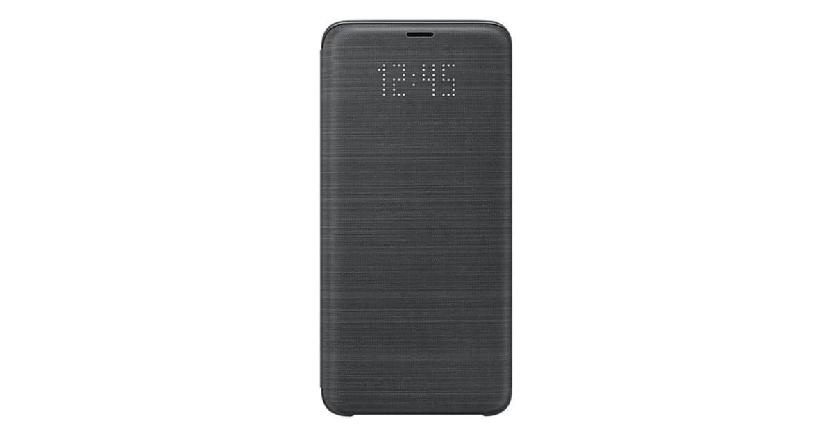 the latest 8b1a1 5a76b Samsung Galaxy S9+ Plus LED View Cover - Black | Phone Cases