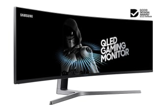 "Samsung 49"" 32:9 3840x1080 144Hz FreeSync QLED Ultrawide Curved Gaming Monitor (LC49HG90DMEXXY)"