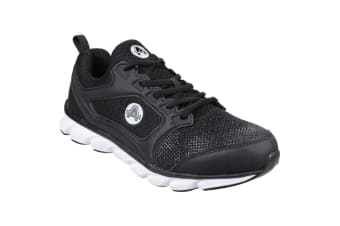 Amblers Safety Mens AS707 Lightweight Non-Leather Safety Trainer (Black) (12 UK)