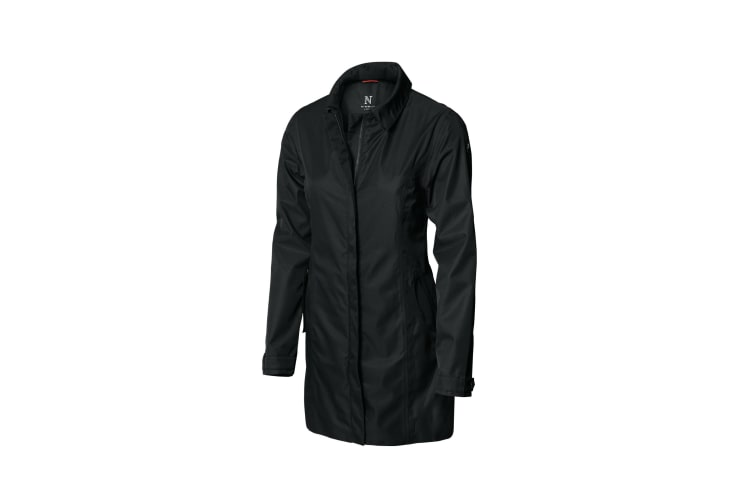 Nimbus Womens/Ladies Seattle Waterproof Business Coat (Black) (3XL)