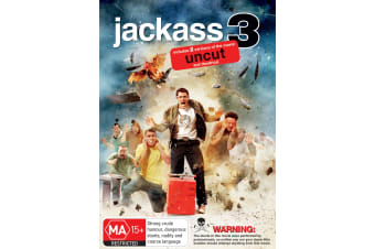 Jackass 3 DVD Region 4