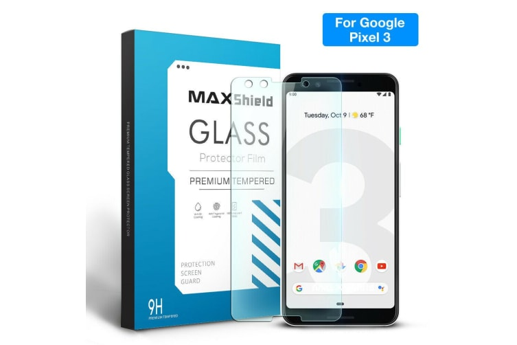 TEMPERED GLASS SCREEN PROTECTOR FOR Google Pixel 3