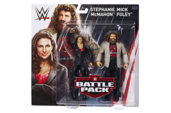 WWE Figure Series # 49 Stephanie MacMahon & Nick Foley Action Figures 2 Pack