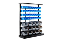 Baumr-AG Floor Standing Parts Bin Rack - S47