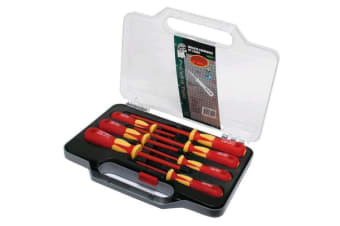 ProsKit VDE Insulated Screwdriver Set 1000V 7PCS Magnetic GS VDE IEC60900 Certified   2 Years