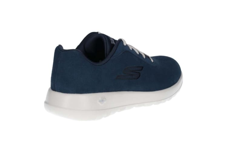Skechers Mens Go Walk Max Evaluate Suede Lace Up Trainer (Navy) (9 UK)