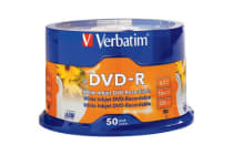 Verbatim 50Pk Dvd-R Printable Spindle