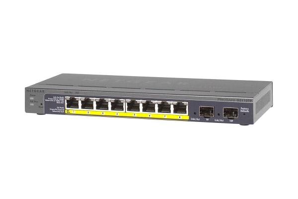 Netgear GS110TP 8-Port POE Gigabit Switch (GS110TP-200AJS)
