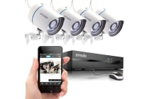 Zmodo 4 Camera All-in-One sPoE NVR Security System iOS User Manual