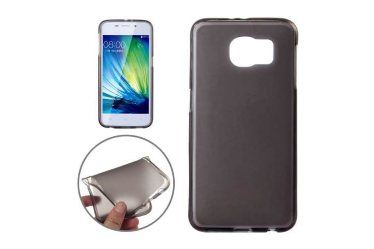 For Samsung Galaxy S6 Case Frosted High-Quality Durable Shielding Cover Black