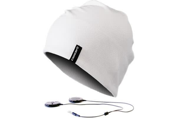 Aerial7 Sound Disk Sports Beanie White