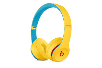 Beats Solo3 Wireless Headphones (Beats Club Collection, Club Yellow)