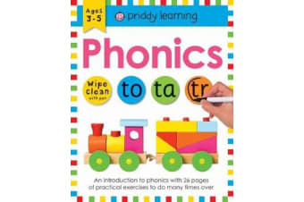 Phonics - Wipe Clean Workbooks