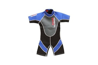 "26"" Chest Childs Shortie Wetsuit in Blue"